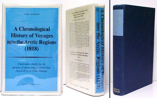 Image for A Chronological History of Voyages into the Arctic Regions.   Reprint in dustjacket.