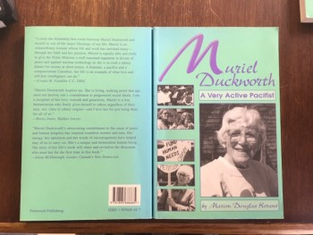 Image for Muriel Duckworth : A Very Active Pacifist : A Biography. First Edition