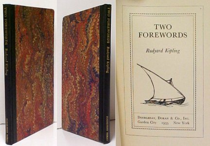 Image for Two Forewords. 1st US no slipcase