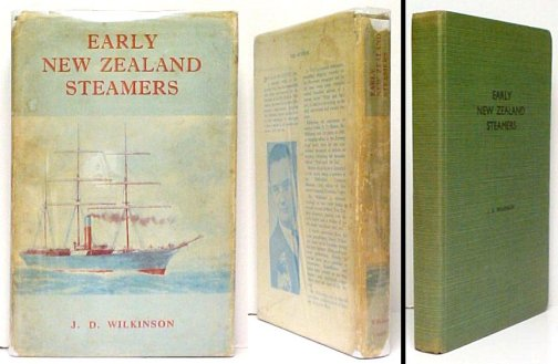 Image for Early New Zealand Steamers. 1st in dj