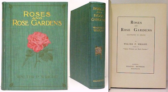 Image for Roses and Rose Gardens. no dj