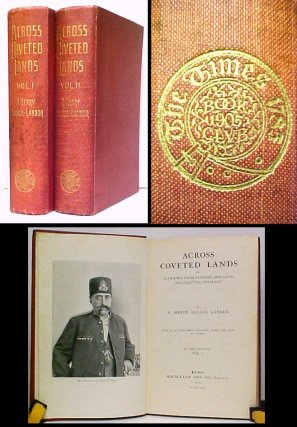 Image for Across Coveted Lands or, A Journey from Flushing (Holland) to Calcutta, Overland. 1st UK. 2 vols.