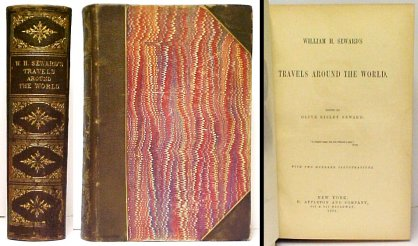 Image for William H. Seward's Travels Around the World.  1st ed