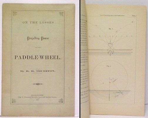 Image for On the Losses of Propelling Power in the Paddle-Wheel