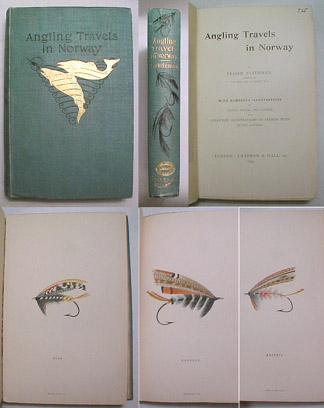 Image for Angling Travels in Norway. With Numerous Illustrations by Pencil, Brush, and Camera, and Coloured Illustrations of Salmon Flies by the Autho