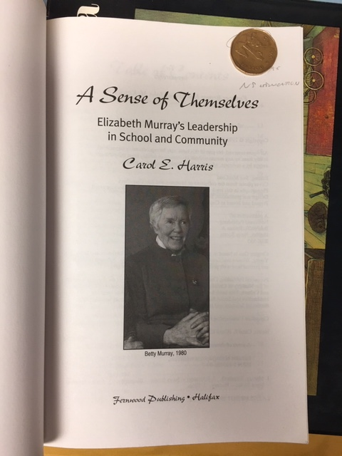 Image for A Sense of Themselves : Elizabeth Murray's Leadership in School and Community. First Edition