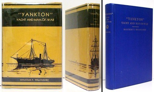 "Image for Yankton"" Yacht and Man-of-War.  in dj."