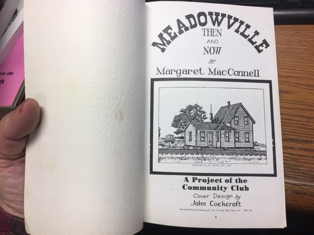 Image for Meadowville Then and Now.  First Edition.