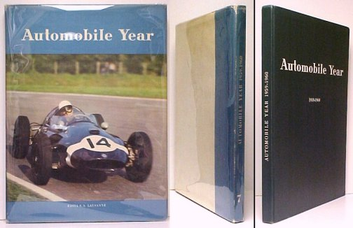 Image for Automobile Year Number 7 Edition 1959-1960. in dj