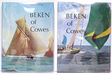 Image for Beken of Cowes 1 [with] Beken of Cowes 2.  in djs.