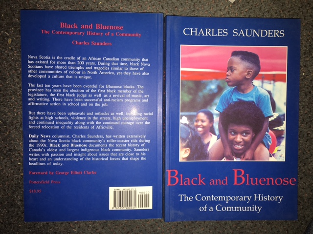 Image for Black and Bluenose : The Contemporary History of Community.  First Edition