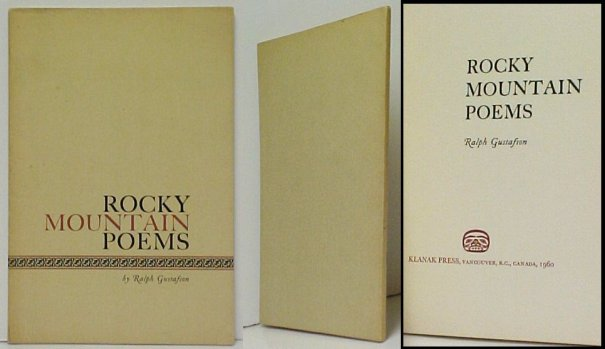 Image for Rocky Mountain Poems. First Edition