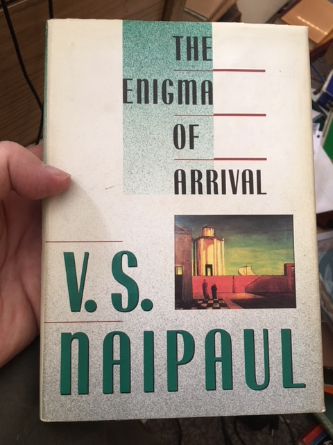 Image for The Enigma of Arrival. First American Edition in dustjacket