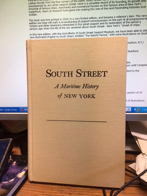 Image for South Street : A Maritime History of New York. Second Revised Edition in dustjacket
