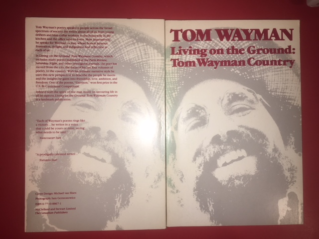 Image for Living on the Ground : Tom Wayman Country.  First Edition.