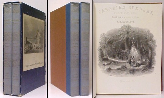 Image for Canadian Scenery. facsimile edition. 2 vols. in slipcase