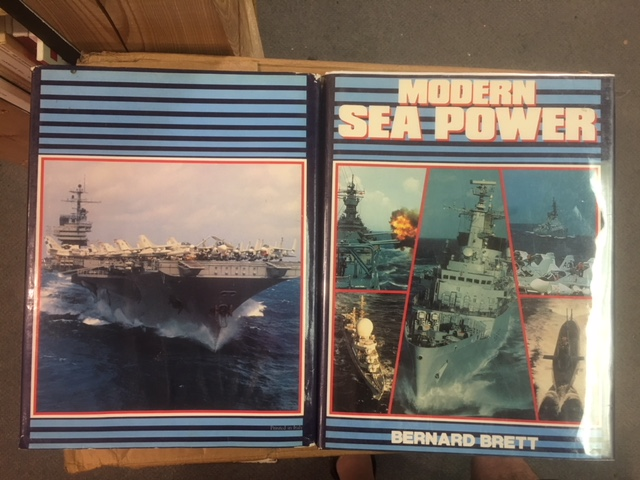 Image for Modern Sea Power. Viscount Edition in dustjacket.