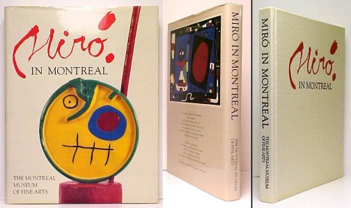 Image for Miro in Montreal. Canadian Edition in dustjacket