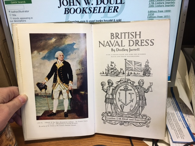 Image for British Naval Dress.  First Edition in dustjacket.