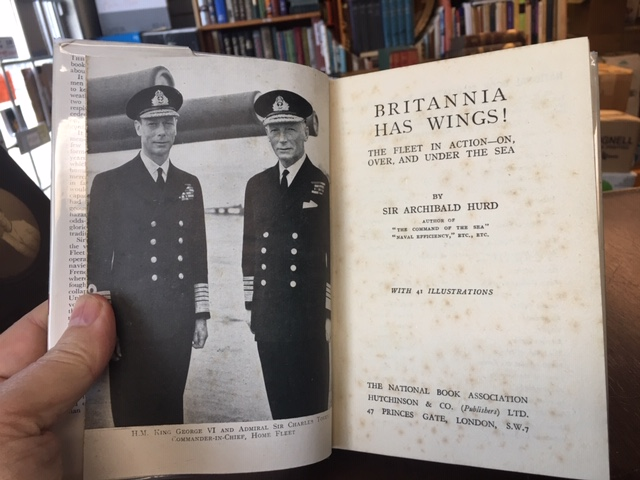Image for Britannia has Wings! : The Fleet in Action- On, Over, and Under the Sea. in dustjacket