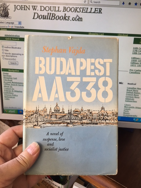 Image for Budapest AA338.  First American Edition in dustjacket.