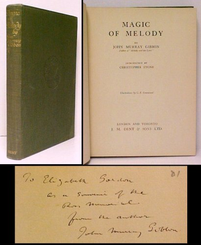 Image for Magic of Melody.  First Edition, Signed
