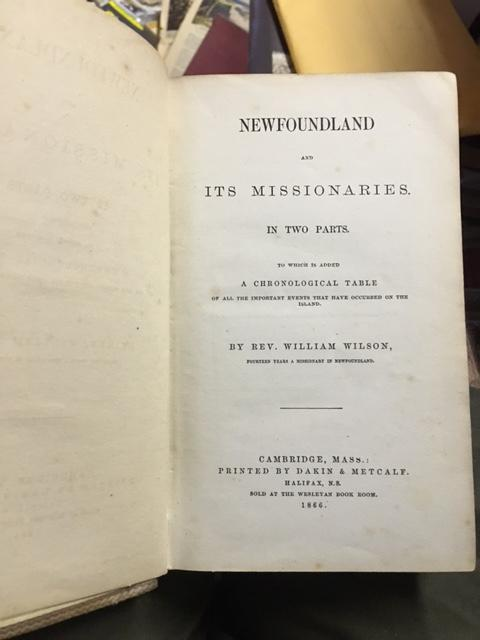 Image for Newfoundland and Its Missionaries  In Two Parts. To which is added a Chronological Table of all the Important Events that have occured on the Island. First Edition