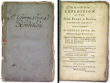 Image for Account of the Expedition of the British Fleet to Sicily , In the Years 1718, 1719, and 1720.  2d ed.