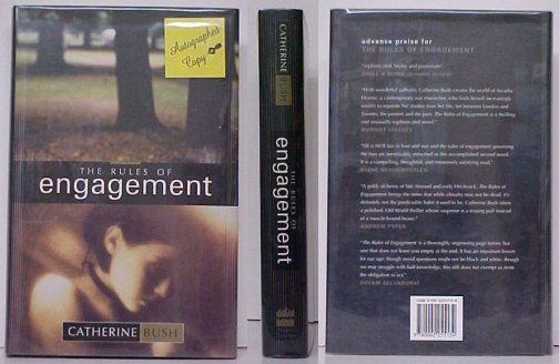 Image for Rules of Engagement.  1st Cdn in dj. signed