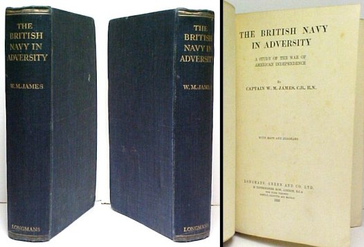 Image for British Navy in Adversity : A Study of the War of American Independence. First Edition.