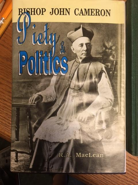 Image for Bishop John Cameron : Piety & Politics.  First Edition in dustjacket,  signed