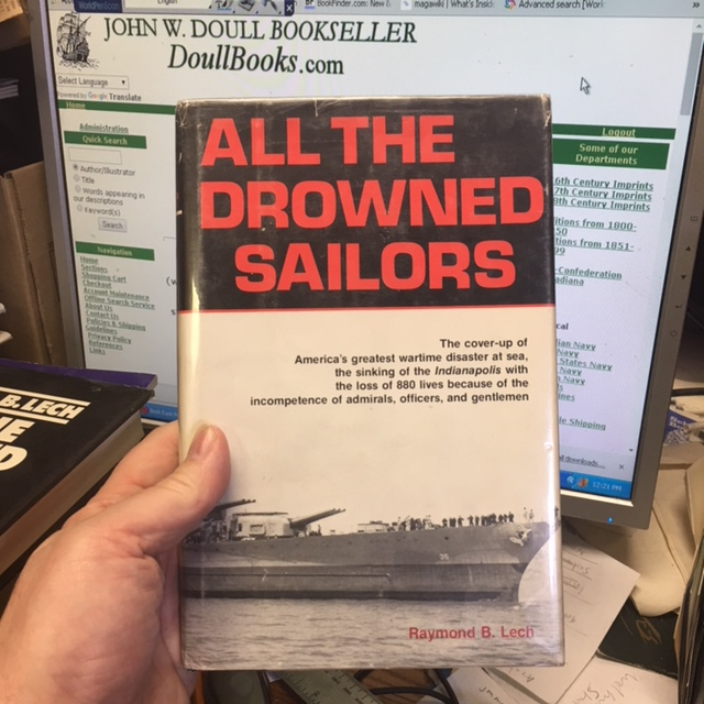 Image for All the Drowned Sailors.  First Edition in dustjacket