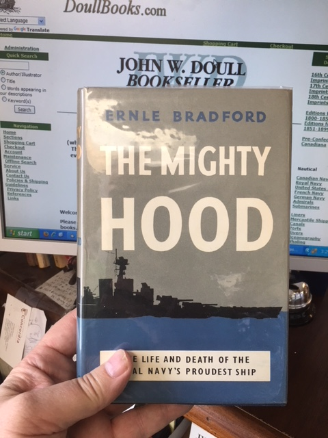 Image for Mighty Hood.  Second Printing in dustjacket.