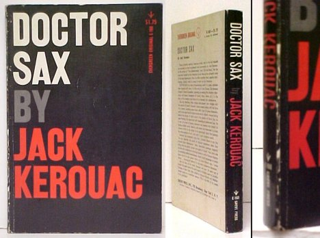 Image for Doctor Sax.  1st pb ed.