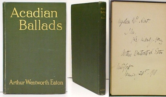 Image for Acadian Ballads and De Soto's Last Dream. First Edition, Signed