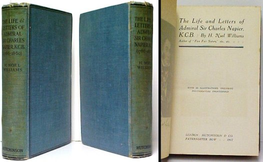 Image for Life and Letters of Admiral Sir Charles Napier. First Edition.