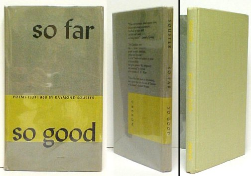 Image for So Far, So Good : Poems 1938 / 1968. First Edition in dustjacket