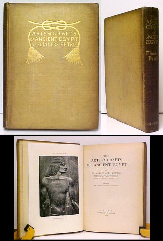 Image for Arts & Crafts of Ancient Egypt . Containing One Hundred and Forty Illustrations