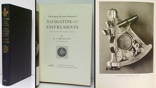Image for Peabody Museum Collection of Navigating Instruments.  ltd ed.