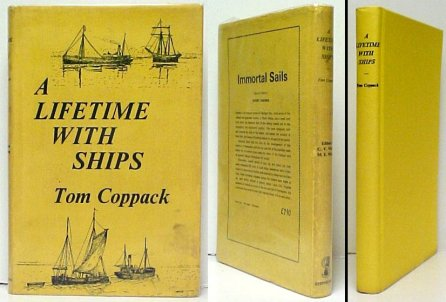 Image for Lifetime with Ships: The Autobiography of a Coasting Shipowner.  1st in dj,signed in dj.