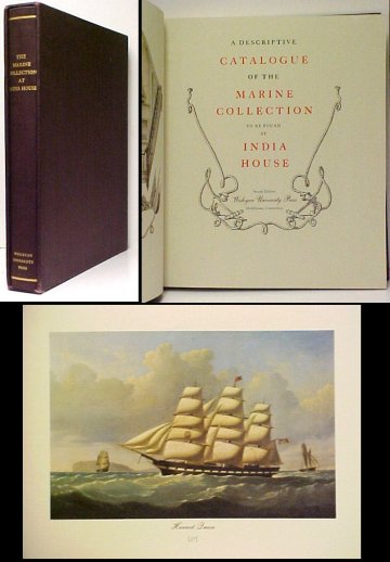 Image for Descriptive Catalogue of the Marine Collection to be found at India House. 2d ltd ed in box.