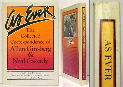 Image for As Ever: The Collected Correspondence of Allen Ginsberg & Neal Cassady