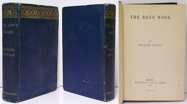 Image for Day's Work.    First British Edition