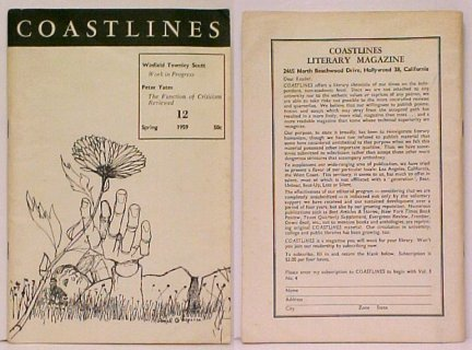 Image for Coastlines 12 : Vol. 3, No. 4, Spring 1959