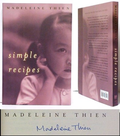 Image for Simple Recipes.  First Edition, Signed