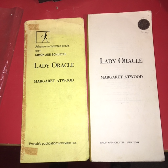 Image for Lady Oracle.  Advanced Uncorrected Proof.