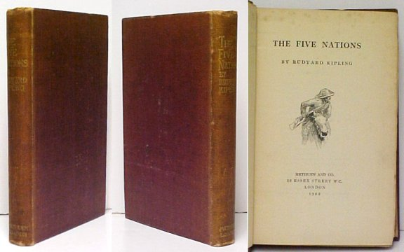 Image for The Five Nations.  First Edition. First Issue.