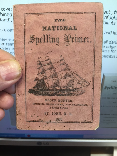 Image for National Spelling Primer, : arranged for the use of Children with various Alphabets