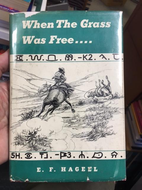 Image for When The Grass Was Free.  First  Edition in dustjacket