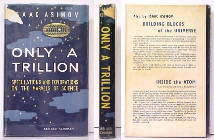 Image for Only a Trillion.  First Edition in dustjacket